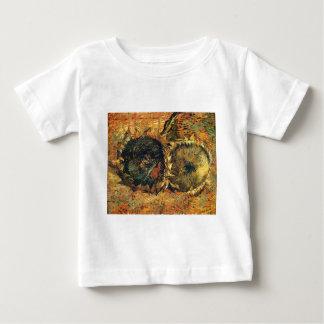 Amarillo cortado de dos girasoles - Vincent van Camisas