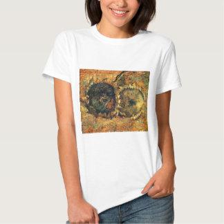Amarillo cortado de dos girasoles - Vincent van Camiseta