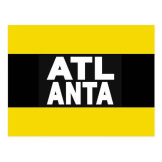Amarillo de Atlanta 2 Postal