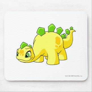 Amarillo de Chomby Alfombrilla De Ratón