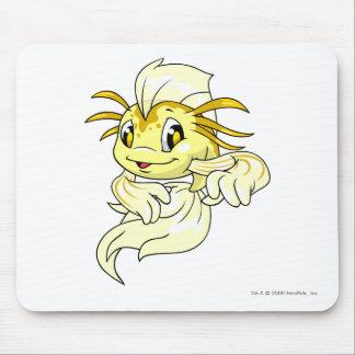 Amarillo de Koi Alfombrilla De Raton