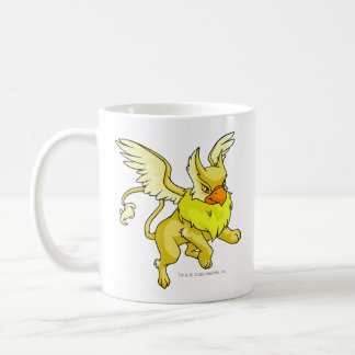Amarillo de la aguilera taza de café