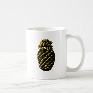 Amarillo de la piña de la hospitalidad el GIF de Z Tazas De Café