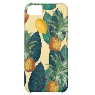 amarillo de los limones de la piña carcasa iPhone 5C