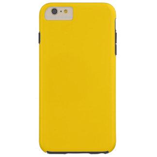 Amarillo de oro funda de iPhone 6 plus tough