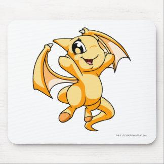 Amarillo de Shoyru Alfombrilla De Ratón