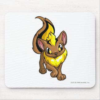 Amarillo de Xweetok Alfombrilla De Ratón
