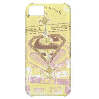 Amarillo del teatro de la ópera de Supergirl Funda Para iPhone 5C