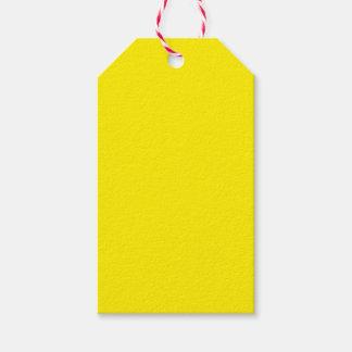 Amarillo Etiquetas Para Regalos