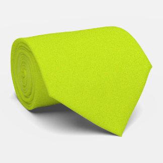 Amarillo fluorescente del OPUS 1111 Corbata