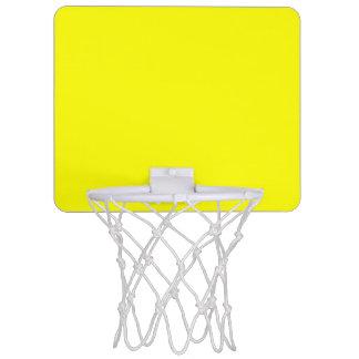 Amarillo Mini Aro De Baloncesto