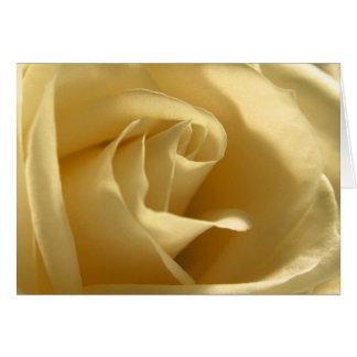 Amarillo-Rosa Tarjeta De Felicitación