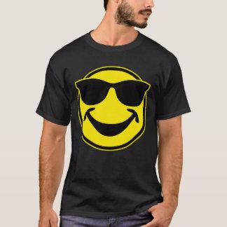 Amarillo sonriente fresco + su backg. y ideas camiseta