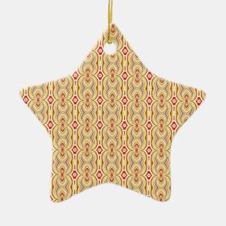 Amarillo y modelo modernos de las cadenas de Brown Ornamento Para Reyes Magos