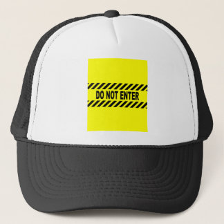 Amarillo y negro no incorpore la muestra gorra de camionero