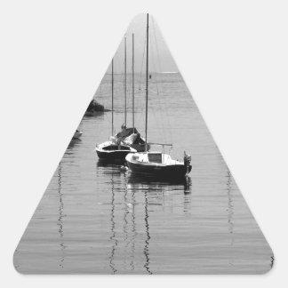 Amarrado Pegatina Triangular