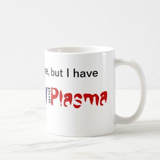 Ambición y plasma tazas