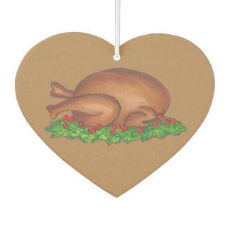 Ambientador Acción de gracias Turquía con la cena Foodie de