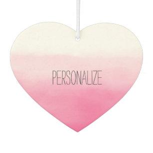 Ambientador Acuarela rosada Ombre personalizado