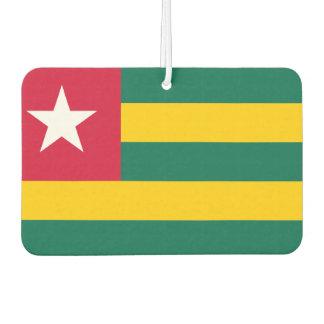 Ambientador Bandera nacional del mundo de Togo