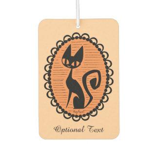 Ambientador Camafeo del gato negro de Halloween