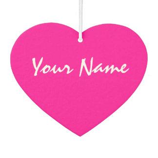 Ambientador Corazón rosado adaptable