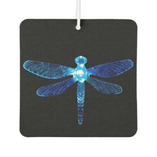 Ambientador de aire azul del coche de la libélula