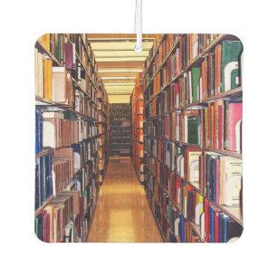 Ambientador de aire de los estantes de librería d