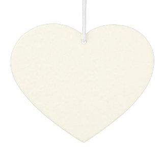 Ambientador de aire en forma de corazón