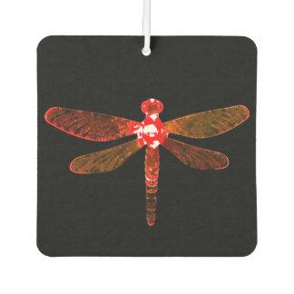 Ambientador de aire rojo del coche de la libélula