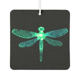 Ambientador de aire verde del coche de la libélula