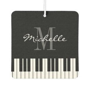 Ambientador El piano de encargo del monograma cierra el