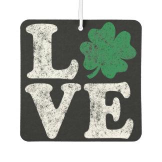 Ambientador Irlandés del trébol del AMOR del día de St Patrick