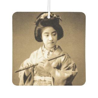 Ambientador La sepia del vintage entonó al geisha japonés que