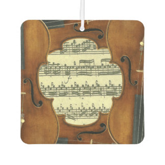 Ambientador Manuscrito de la música de Bach Partita de los