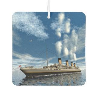 Ambientador Nave titánica - 3D rinden