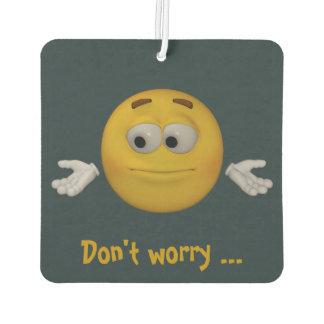 Ambientador No se preocupe, sea feliz. Estilo de la animación