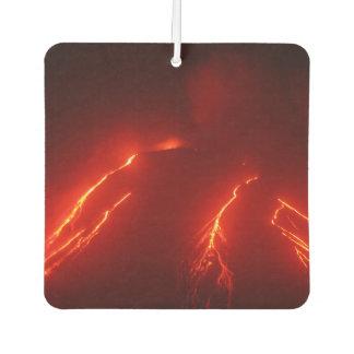 Ambientador Opinión de la noche de los flujos de lava en la