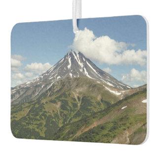 Ambientador Paisaje veraniego hermoso del volcán