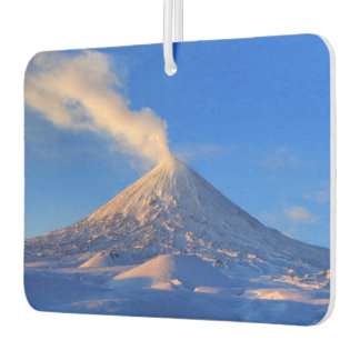 Ambientador Paisaje volcánico del invierno hermoso