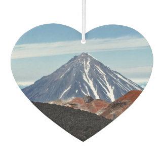 Ambientador Paisaje volcánico del verano escénico