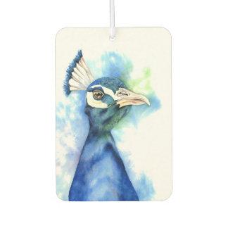 Ambientador Pintura de la acuarela del pavo real