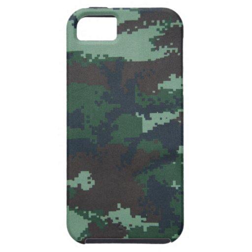 Ambiente militar de la casamata Iphone5 iPhone 5 Case-Mate Protectores