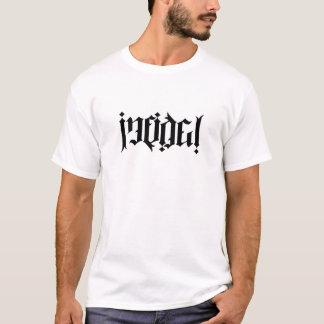 Ambigram infiel camiseta