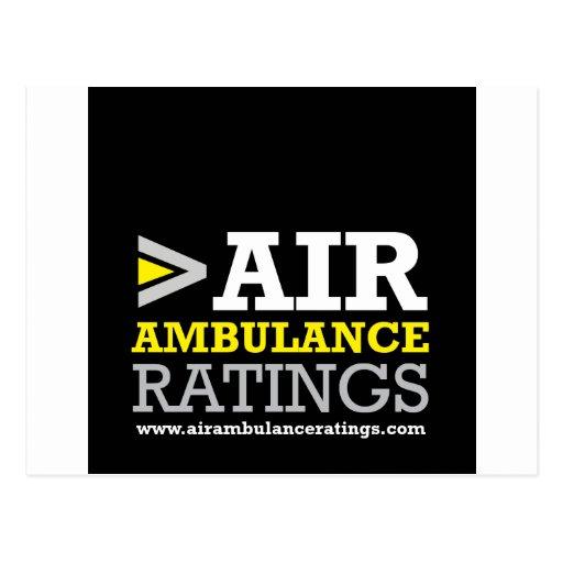 Ambulancia aérea y grados Medical Flight Company Postales