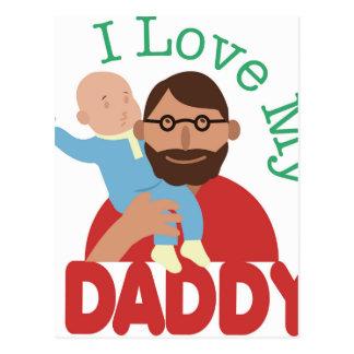Ame a mi papá postal