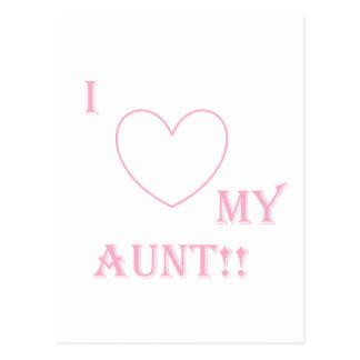 ame a mi tía postal