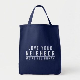 Ame a su vecino - somos todos la bolsa de asas