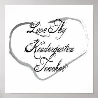 Ame a Thy maestro de jardín de infancia Impresiones