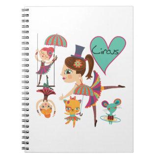 Ame el diario del cuaderno del circo
